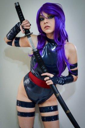 Psylocke Cosplay 16
