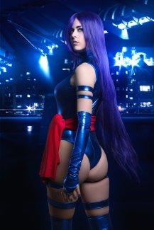 Psylocke Cosplay 23