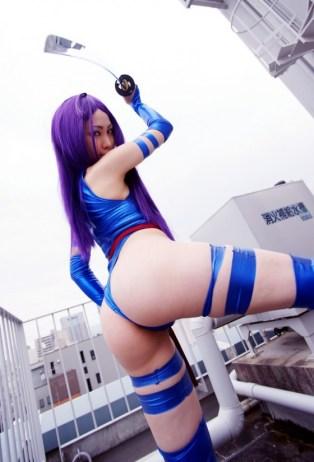 Psylocke Cosplay 40