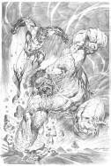 Ardian Syaf Pencils - Hulk   Wolverine