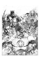 Ardian Syaf Pencils - Justice League