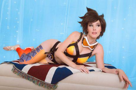 Boudoir Tracer (Overwatch) Meg Turney