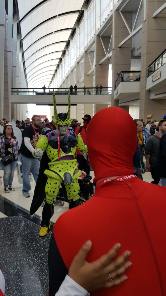 C2E2 2017 Cosplay - Deadpool vs