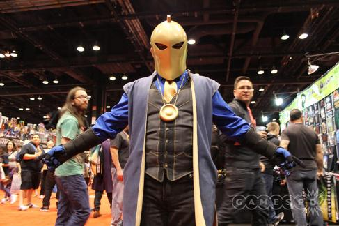 C2E2 2017 Cosplay - Dr. Fate