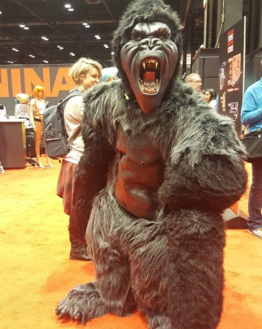 C2E2 2017 Cosplay - King Kong