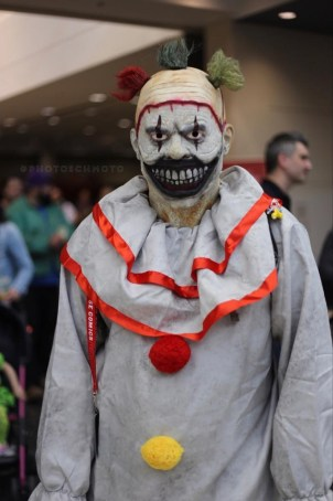 C2E2 2017 Cosplay - Scary Clown 2