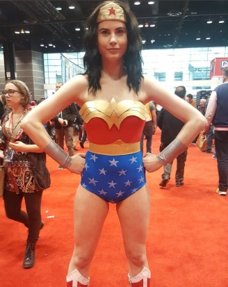 C2E2 2017 Cosplay - Wonder Woman