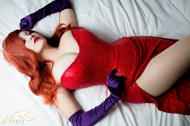 Jessica Rabbit Cosplay 19