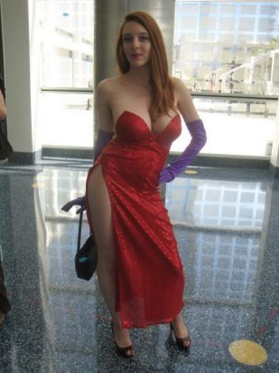 Jessica Rabbit Cosplay 44