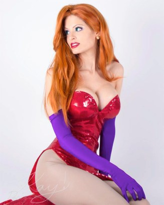 Jessica Rabbit Cosplay 8