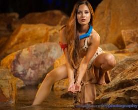 Pocahontas Leia Cosplay 6
