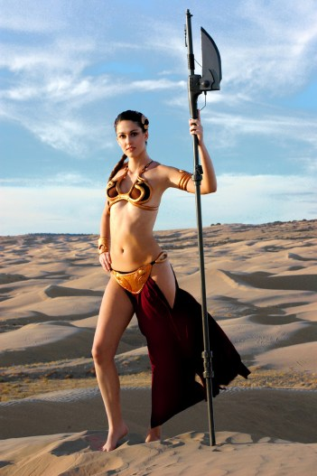 Princess Leia Cosplay 36