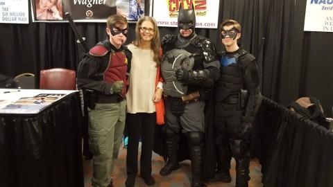 Steel City Con 2017 - Batman | Robin | Nightwing 2