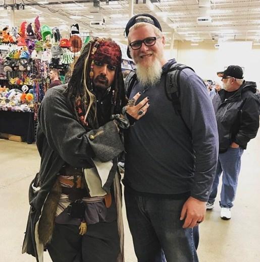 Steel City Con 2017 - Captain Jack Sparrow