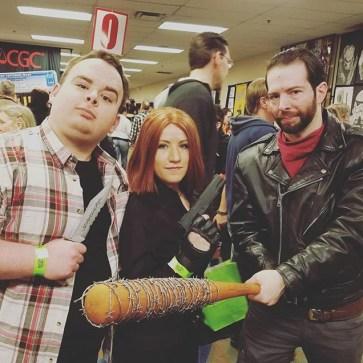Steel City Con 2017 - Negan | Black Widow