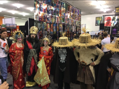 SVCC 2017 Cosplay - Big Trouble in Little China