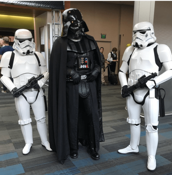 SVCC 2017 Cosplay - Darth Vader   Storm Troopers