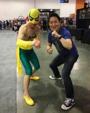 SVCC 2017 Cosplay - Iron Fist & Ming Chen
