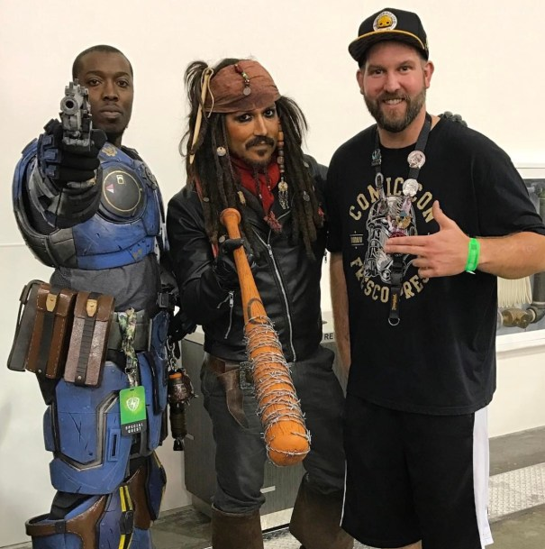 SVCC 2017 Cosplay - Jack Sparrow