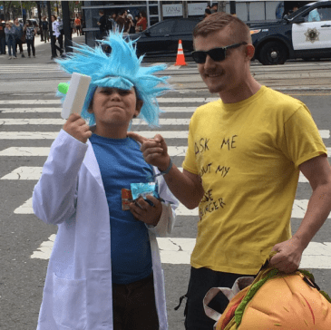 SVCC 2017 Cosplay - Rick and Morty 2
