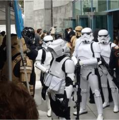 SVCC 2017 Cosplay - Storm Troopers 1