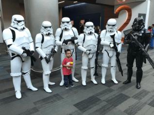 SVCC 2017 Cosplay - Storm Troopers 2