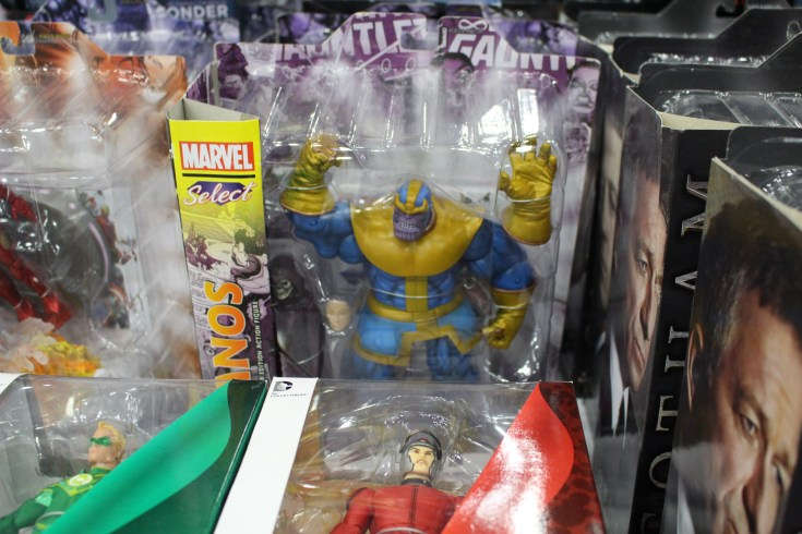 Comicpalooza 2017 - Thanos Toy