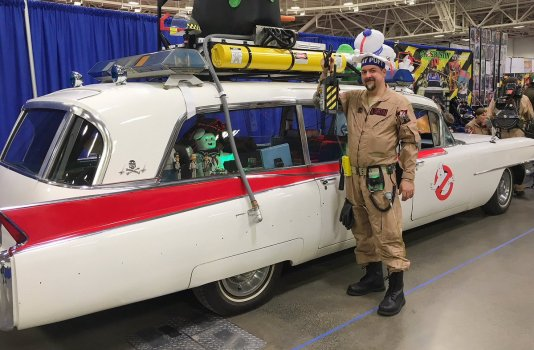 Wizard World Minneapolis 2017 Cosplay - Ghost Busters