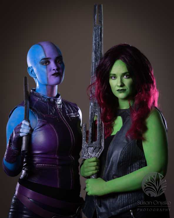 Wizard World Minneapolis 2017 Cosplay - Nebula | Gamora