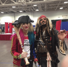 Wizard World Minneapolis 2017 - Harley Quinn | Jack Sparrow