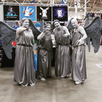 Wizard World Minneapolis 2017 - Weaping Angels