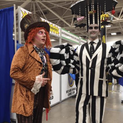 Wizard World Minneapolis 2017 - Willy Wonka | Beetlejuice