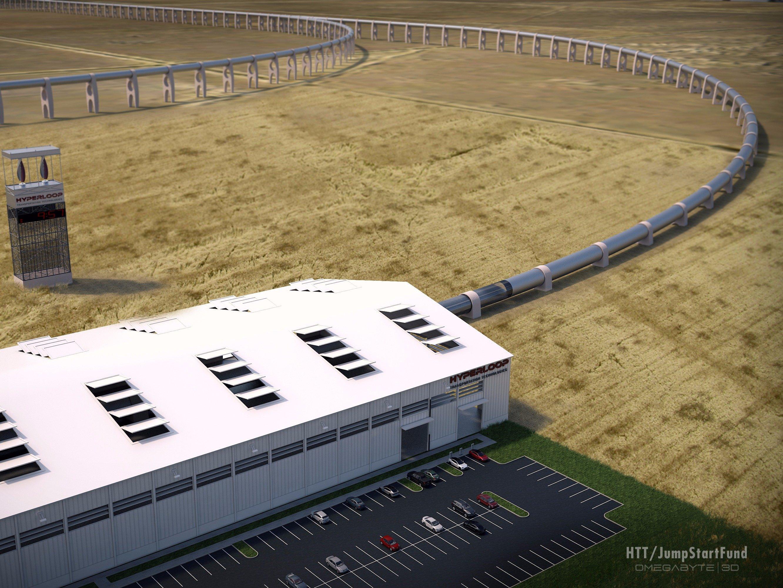 hyperloop track 2