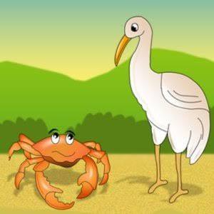 The Crafty Crane and the Craftier Crab