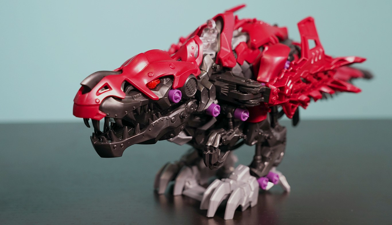 Geek Review Zoids Wild Rex