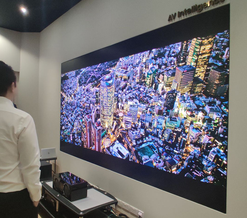 Samsung Releases Massive 292 Inch 8k Modular Tv The Wall Luxury In Singapore Geek Culture