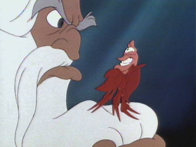 King Triton is one center of conflict in Disney's The Little Mermaid