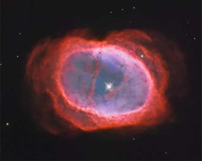 NGC 3132: The Southern Ring Nebula Image Credit: Hubble Legacy Archive, ESA, NASA; Processing - Donald Waid