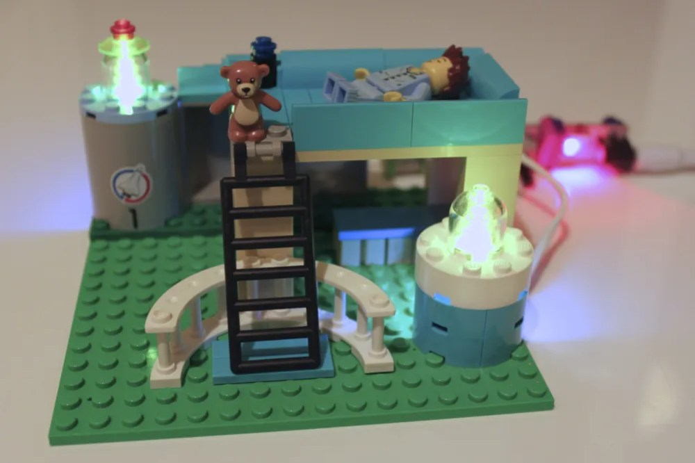 Lighting up the Lego