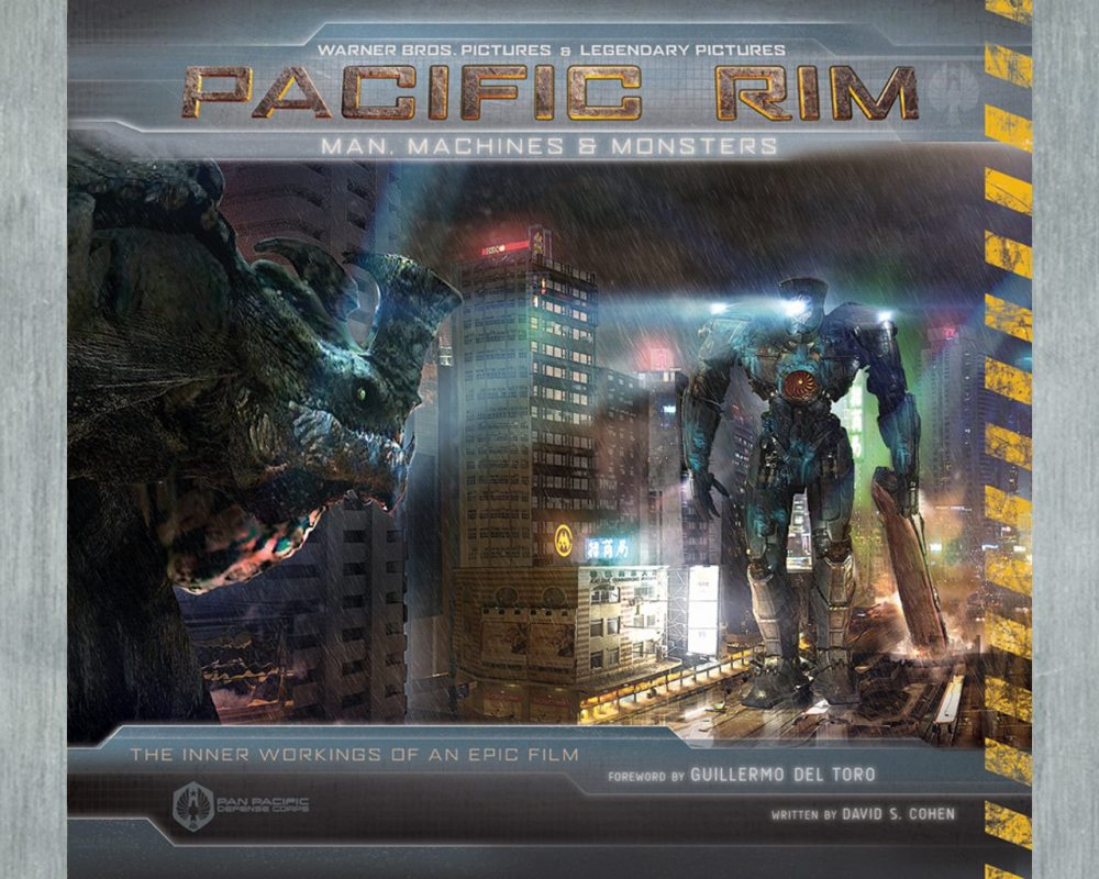 Book cover for Pacific Rim: Man, Machines, and Monsters