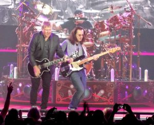 Rush rocking out