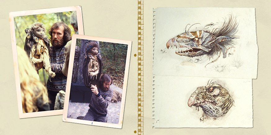 October 17, 1978: Short test film is made in Bedford, NY, plus concept sketches of the creatures.