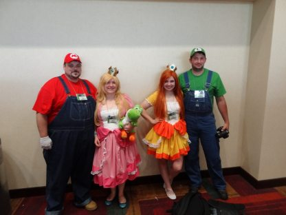 Thanks to these folks, I didn't run into any goombas or koopas all weekend.