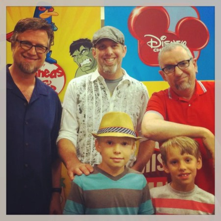 Phineas and Ferb creators