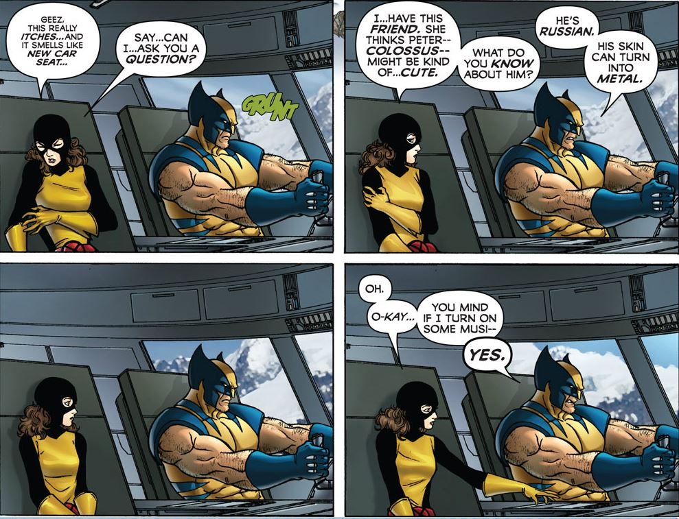 Wolverine: First Class #1  Image Copyright Marvel