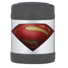 superman funtainer food jar