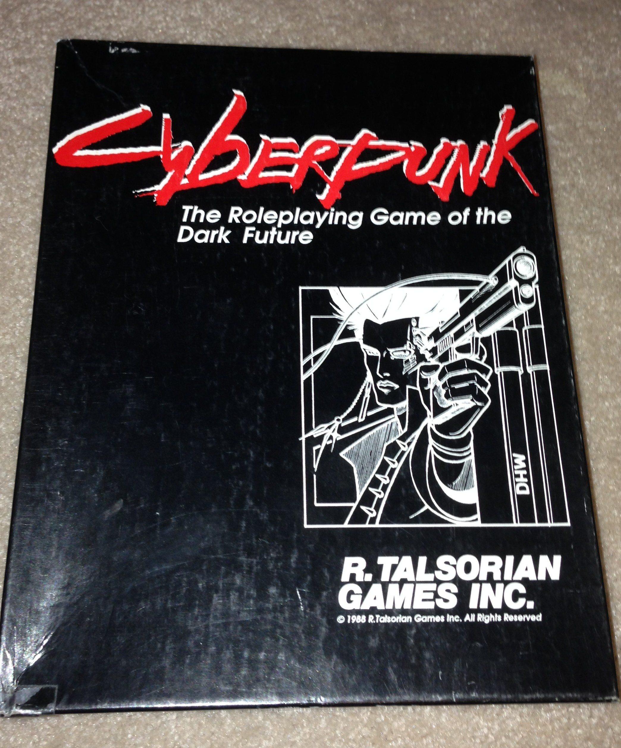 GeekDad Retro Gaming: Cyberpunk by R  Talsorian Games, Inc  - GeekDad