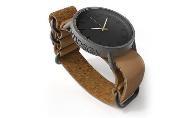 Titianium 3D Printed Watch from rvnDesign