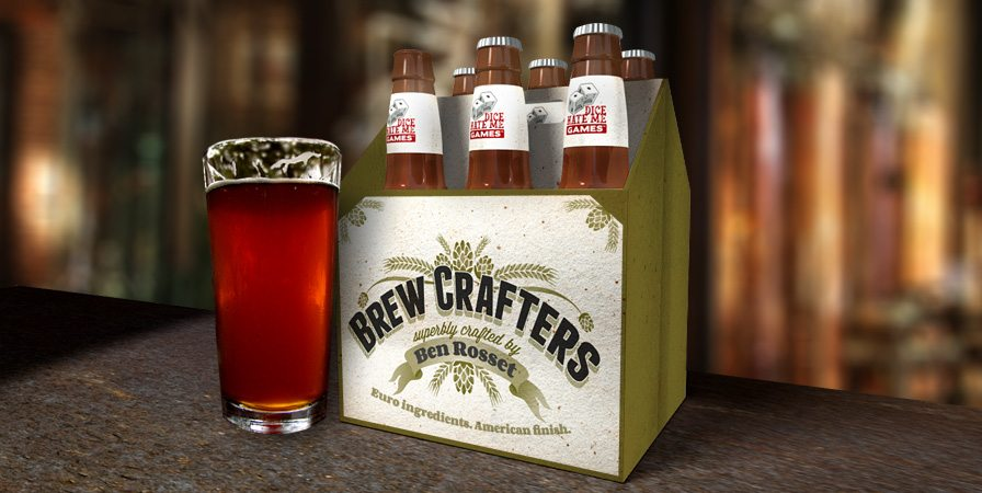 Brew Crafters is a microbrewery-themed board game from Dice Hate Me Games