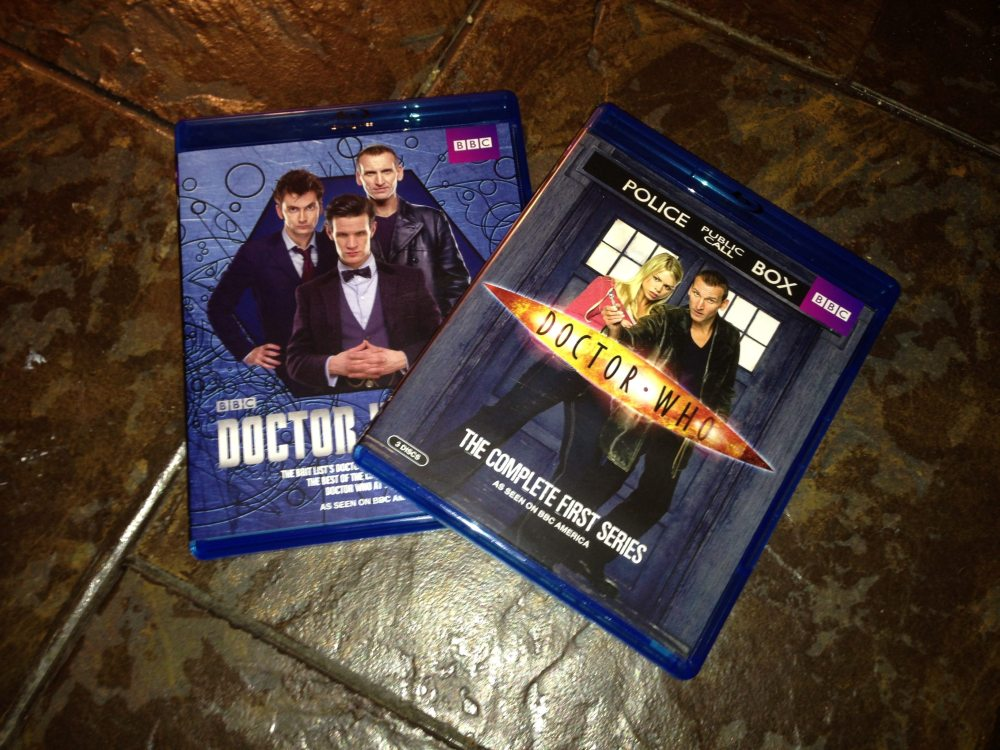 Tenth Doctor Blue-Ray DVD set